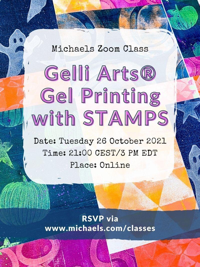 Michaels Zoom Class Oct 26 2021